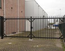 spijlhekwerk dubbele poort